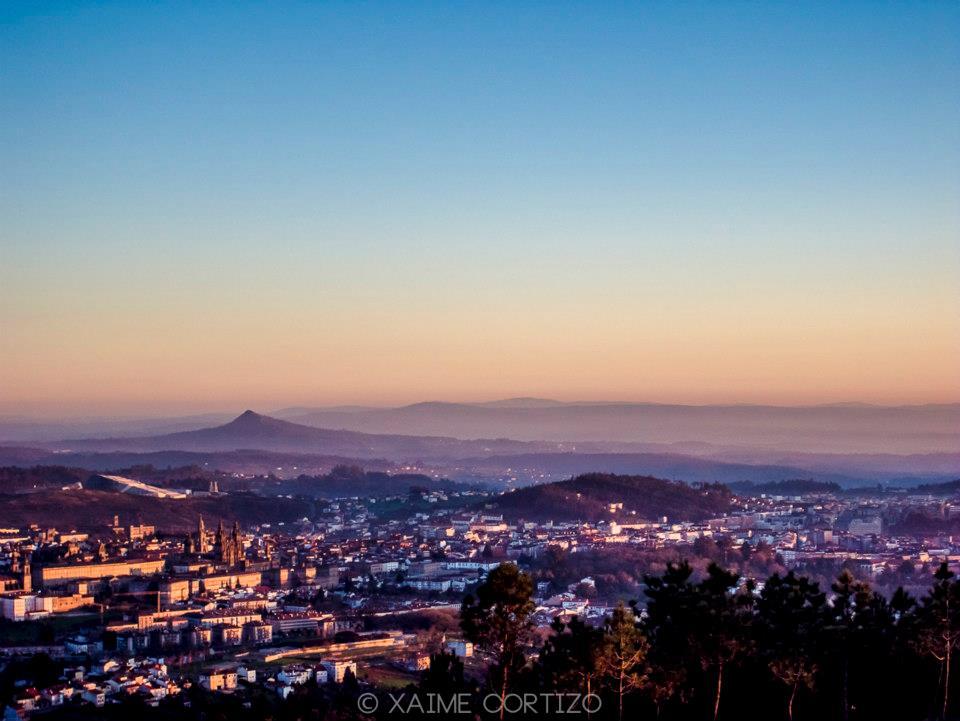 Santiago de Compostela by Xaime Cortizo